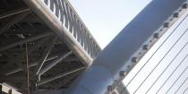 A szolnoki Tiszavirág gyalogos- és kerékpáros híd
