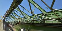 II. Rákóczi Ferenc Tisza-híd építése és a régi híd bontása, Vásárosnamény