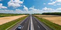 M3 motorway: road 49-Vásárosnamény area