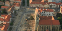Reconstruction of the Keszthely Main square