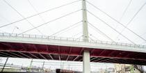A békéscsabai Orosházi úti felüljáró építése