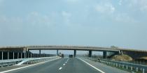 M43 motorway (Szeged-Makó area)