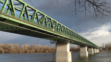 Northern railway bridge awarded by MAGÉSZ Hungarian Steel Structure Association in 2010