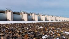 Szamos-Kraszna area flood-level reducing reservoir awarded by MAGÉSZ Hungarian Steel Structures Association