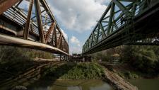 Szolnok railway bridge awarded by ECCS Award of Merit